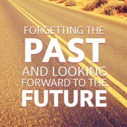 Forgetting the Past and Looking Forward to the Future